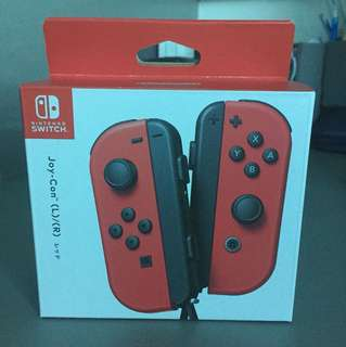 Nintendo Switch Joy Cons Red