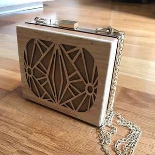 Wooden Bag from Thailand Local Designer