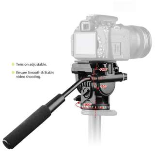 Fluid Video Head for Tripod & Slider