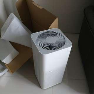 Xiao Mi air purifier 2 zero usage
