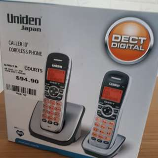 Uniden japan caller ID cordless phone