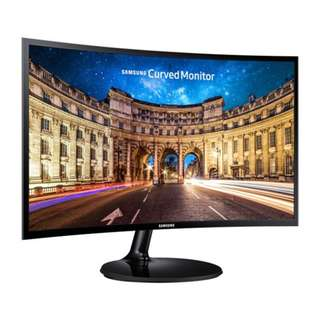 Samsung Electronics Korea Super Slim Curved Design C27F390F LED Curved Monitor 27 inches