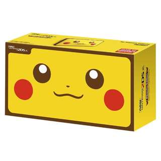 (PREORDER) New Nintendo 2DS XL Pikachu Edition!