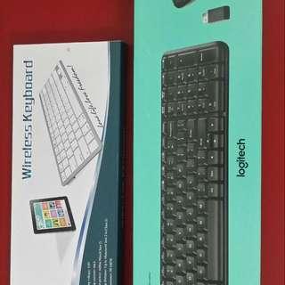 Logitech MK220 Wireless Keyboard And Mouse Combo + Mini Wireless Keyboard