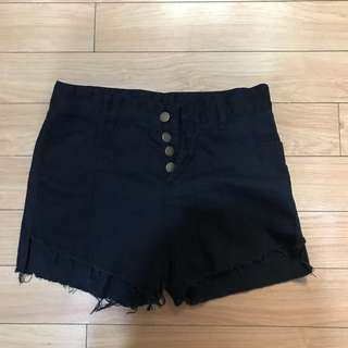 BLACK HIGH WAIST SIZE 29