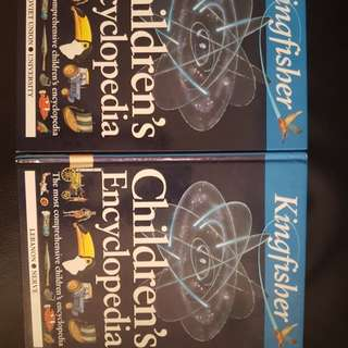 Kingfisher Children's Encyclopedia 2 books (6 and 9)