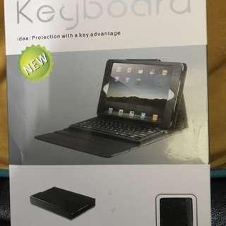 iPad mini 1,2,3合用keyboard 連保護套