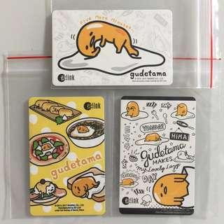 Limited Edition brand new Gudetama Lazy Egg Design ezlink Cards For $6.90 Each .