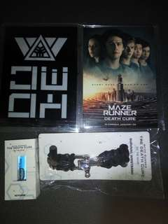 Maze runner movie premiums