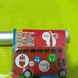 2012年 倫敦 奧運 可口可樂 紀念車 雙層巴士 玩具車