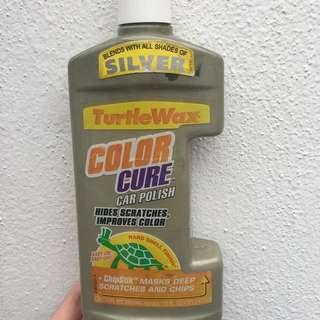 Turtle Wax Car Colour Polish Silver