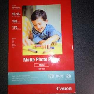 Canon matt Photo Paper
