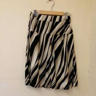 斑馬紋長裙x 2pcs