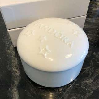 Pandora jewellery ceramic box