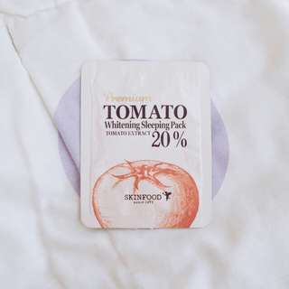 SKINFOOD Premium Tomato Whitening Sleeping Pack (sample)