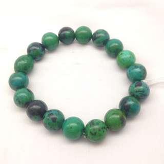Bracelet Green Agte Dyed 10mm