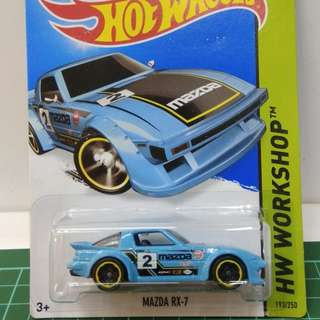 Hotwheels mazda rx 7 kmart edition
