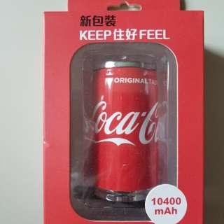 可口可樂充電器10400mAh(紅)