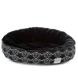 FuzzYard Reversible Bed - Black Diamond