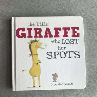 The Giraffe Who Lost Her Spots