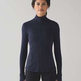 Lululemon define jacket size 4 midnight navy