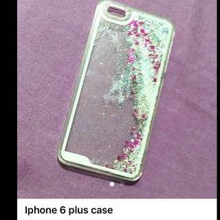 Glittery iphone 6 plus case