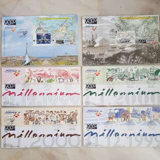 Full Set - Malaysia Millennium First Day Cover