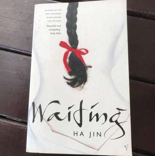 Waiting by Ha Jin (Winner of National Book Award for fiction; Winner of Pen/Faulkner Award)