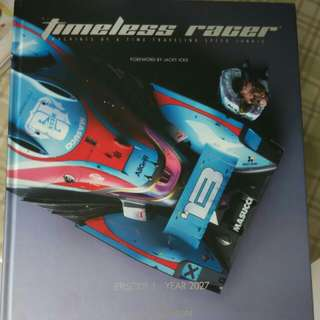 the timeless racer artbook  by Daniel simon