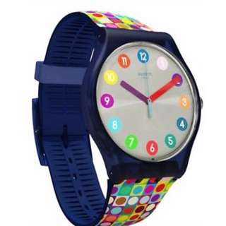 Swatch Colored Watches