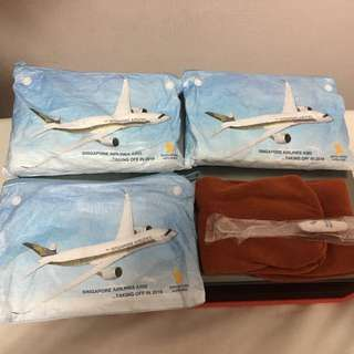 BN SIA toiletries Pouch + socks