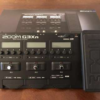 Zoom G3xN multi effects processor in mint condition