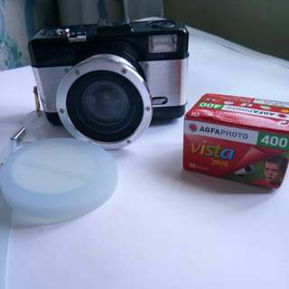 Lomography fisheye 2 film camera