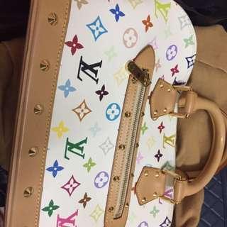 Brand New LV Louis Vuitton Alma Multicolor Bag