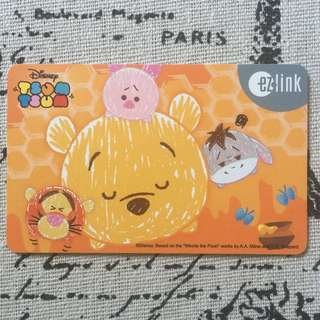 Tsum Tsum Ezlink Card with 5$ value inside