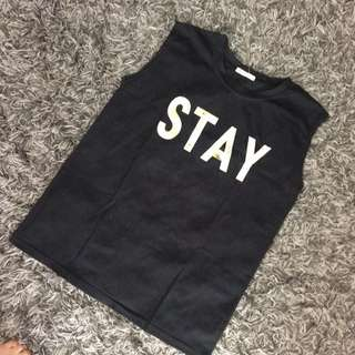 Stay sleeveless top