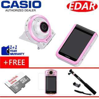 Casio FR100 Free 16GB + Tempered Glass + Selfie stick