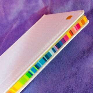 ‼️SALE‼️ Journal in white hard bound and colorful detailing