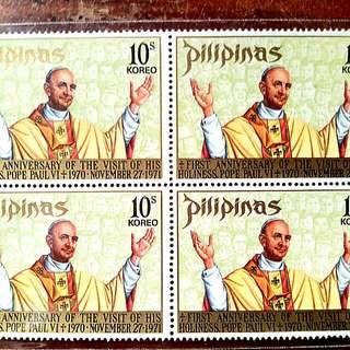 Pope Paul VI, 1st Anniversary of Philillipines' Visit