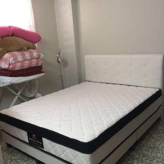 Boston 10'' Euro Top mattress & bedframe