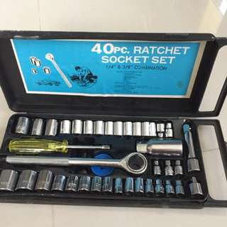 40 piece ratchet set