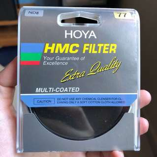 Hoya ND8 filter 77mm