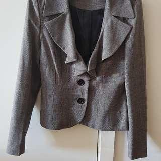 Grey work blazer