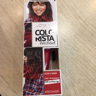 L'Oréal colorista washout (Red)