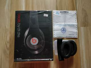 Beats by Dr.dre studio (適合收藏用途)