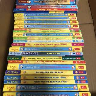 Geronimo & Thea Stilton story books