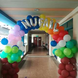 CUSTOMIZED Balloon Arch PROMOTION