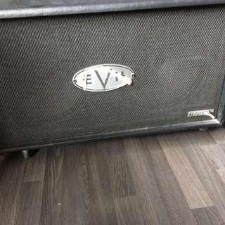 EvH 2x12 closed back guitar cab (vintage V30s)