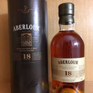 Aberlour 18 yrs Single Malt Whisky 700ml