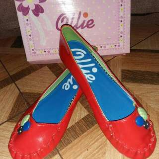Ollie red dollshoes US4(35)